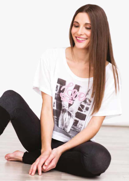 Forever B. FBCRP34BS T-shirt corta