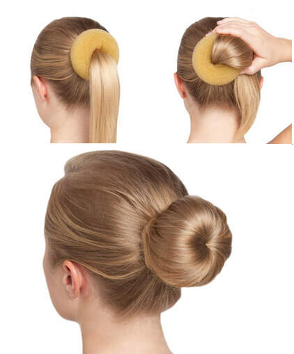 Techdance TH-045 Spugna per chignon GRANDE