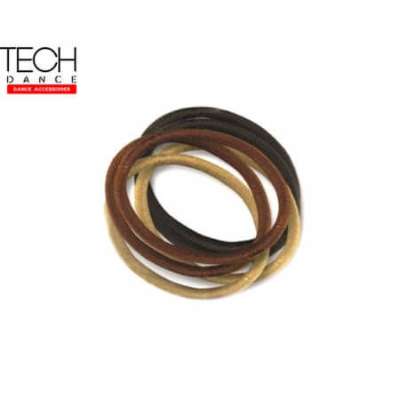 Techdance TH-048 6 Elastici per capelli