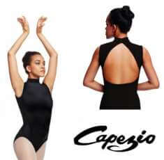 Capezio TC0048W Body tactel collo a polo - miniatura