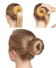Techdance TH-045 Spugna per chignon GRANDE - miniatura