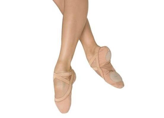 nuovo arrivo outlet in vendita alta qualità Bloch S0621L Pro Elastic Mezze punte tela, Scarpe danza e ballo ...